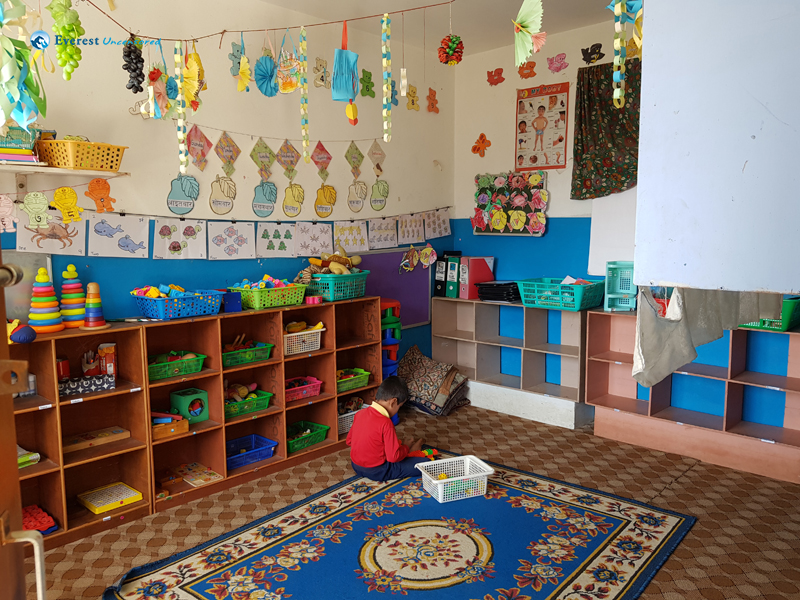 35 Classroom became irrestible again