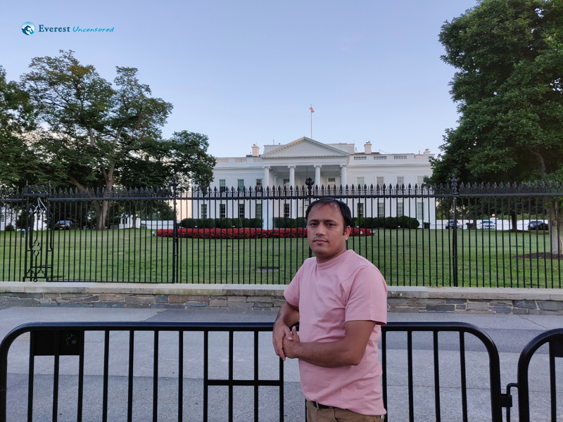 InFront of White House