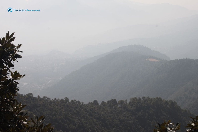 10. Beautiful view from champadevi