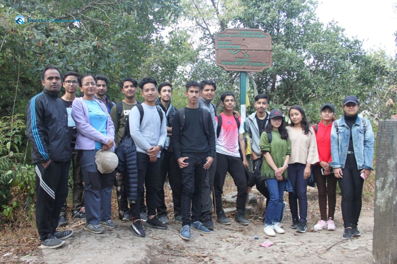 8. Group photo at final destination