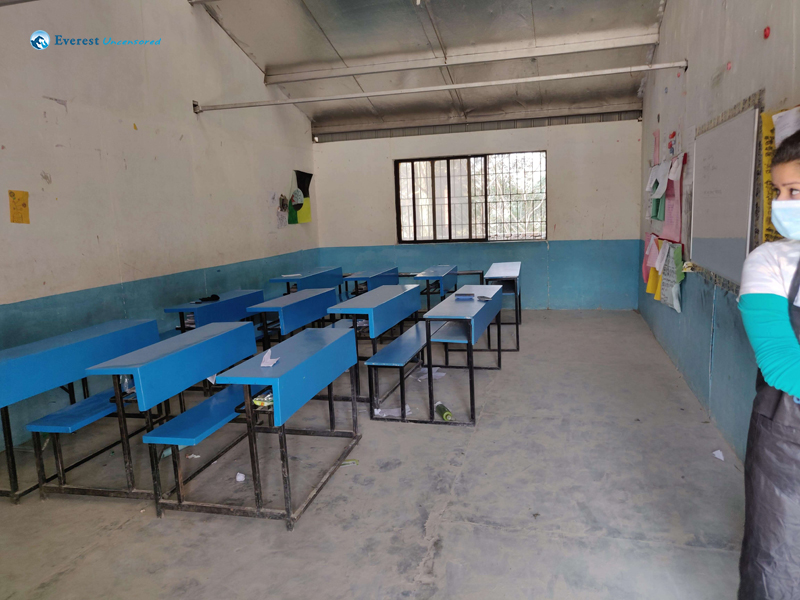 21 Classroom Before