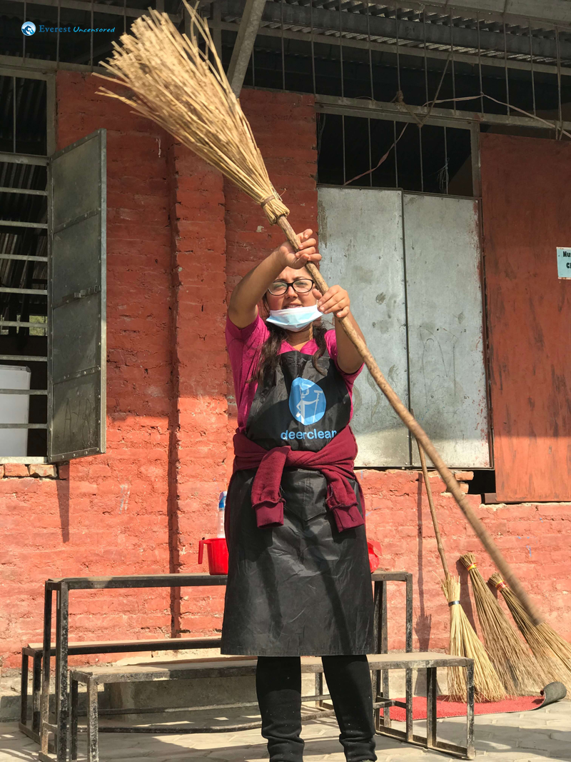 7 Bhumika Vs The Broom