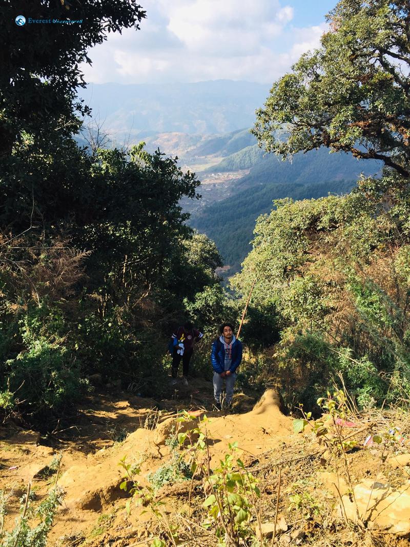 8 Hiking Towards Chandragiri