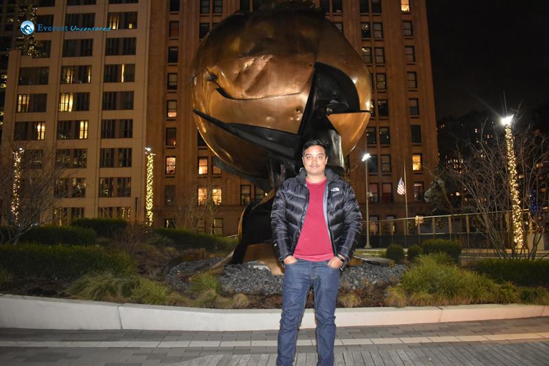 The Wtc Sphere Liberty Park New York