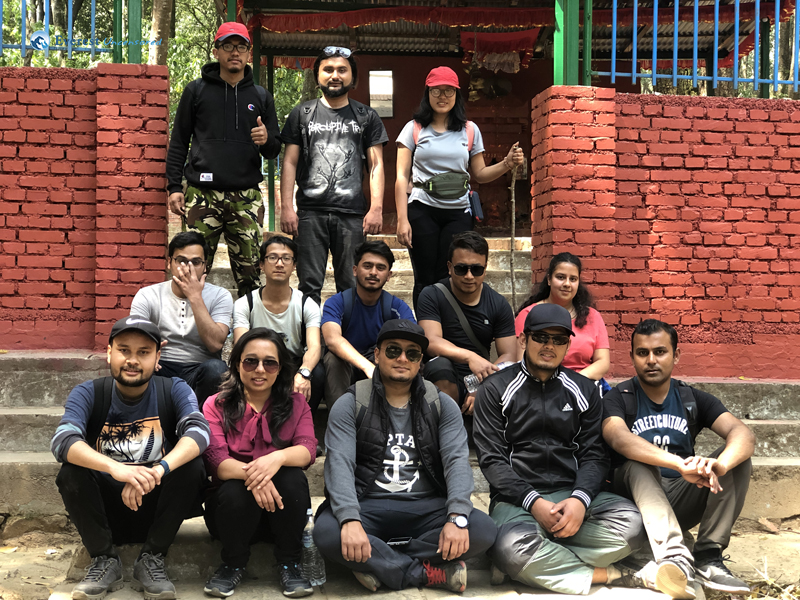 10 At Bhairab Temple