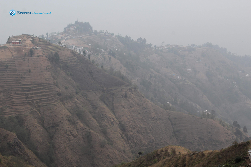 8. Foggy Hills