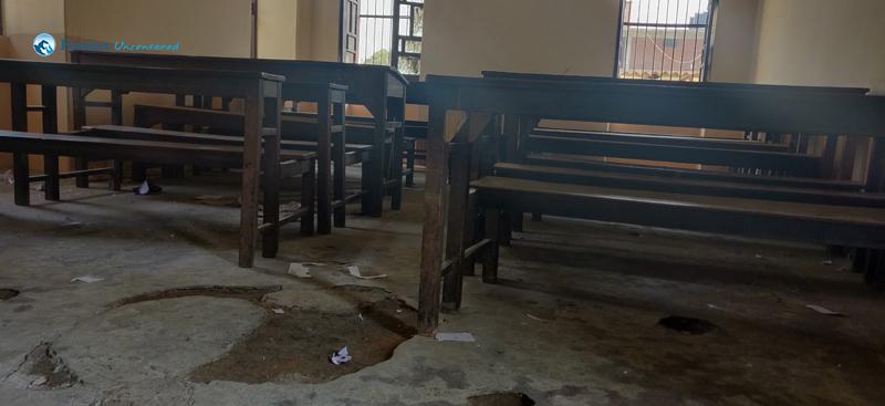 4. Untidy Classroom