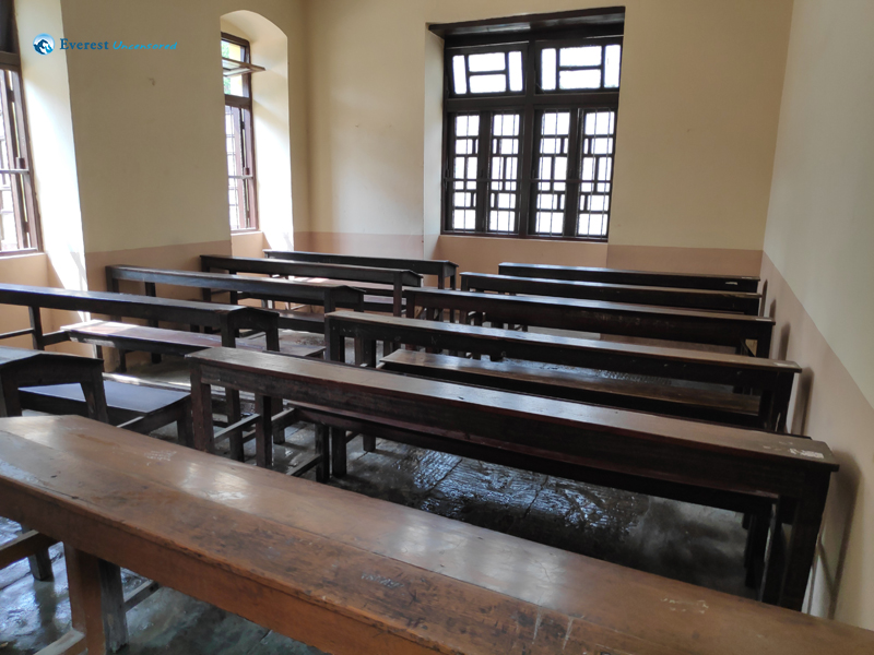8. Classroom After Cleaning