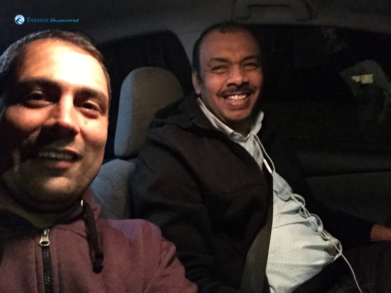 Happy Uber Driver