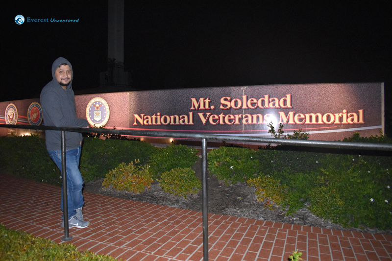 Mout Soledad San Diego