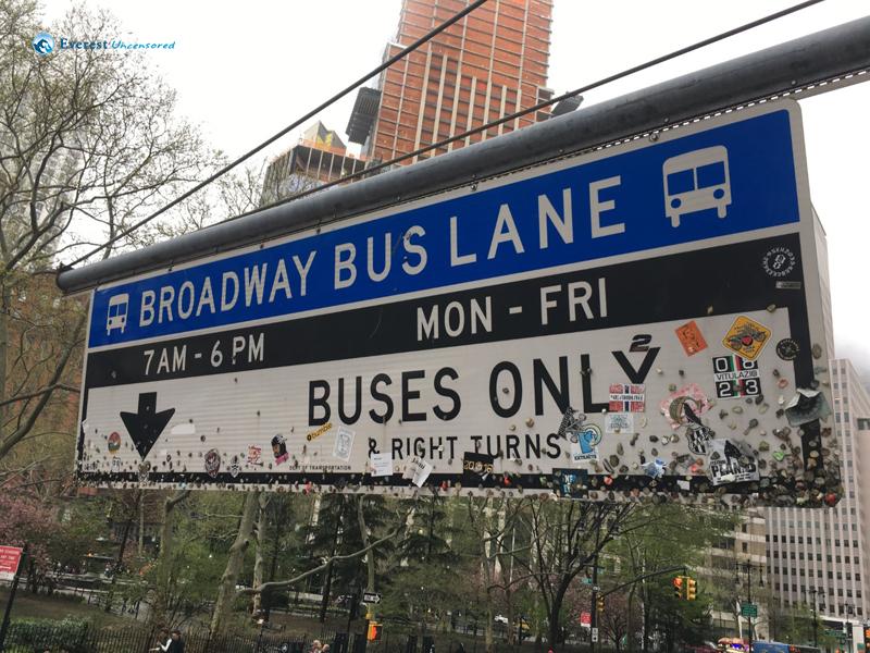 Sticky Bus Stand