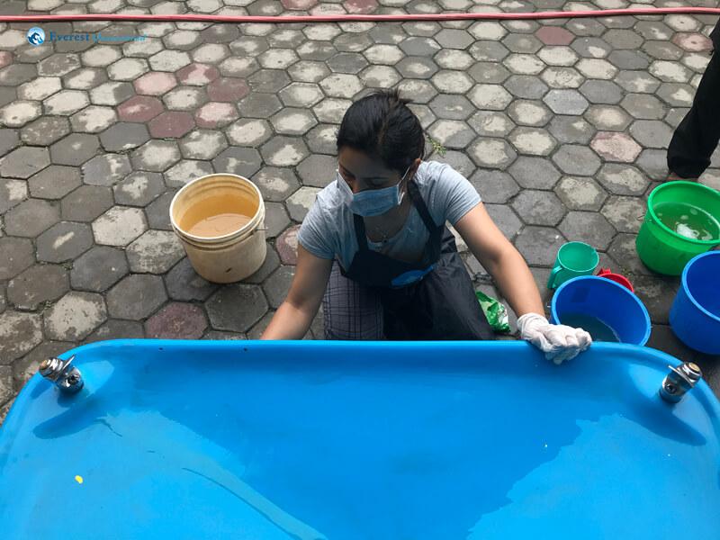 7. Scrub Ongoing