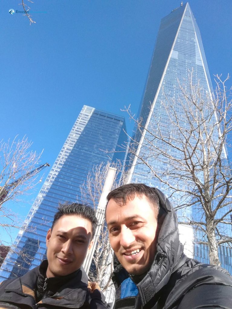 Sunny & Windy Day at Manhattan