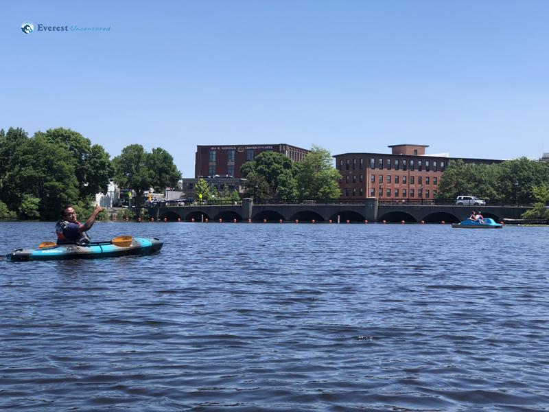 Kayaking In Charles River
