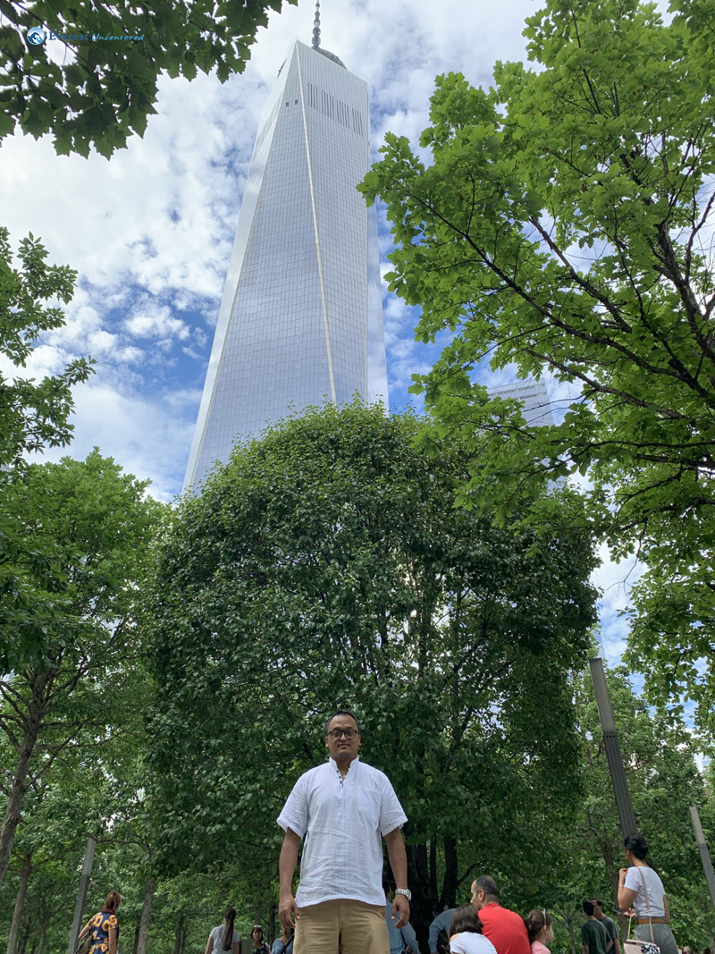 With The Lone Survivor Tree And The New Wtc Building