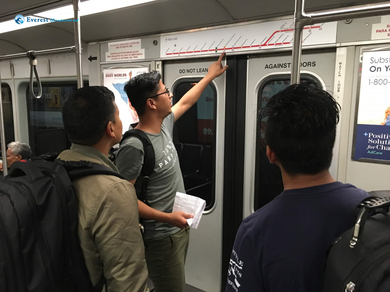 Sharing Expert Opinion On Subway Maps