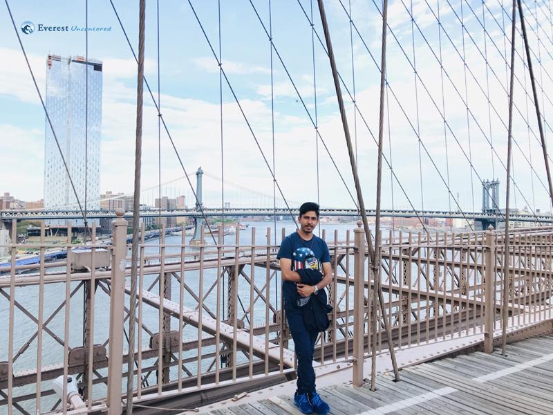 8. Brooklyn Bridge, Side View