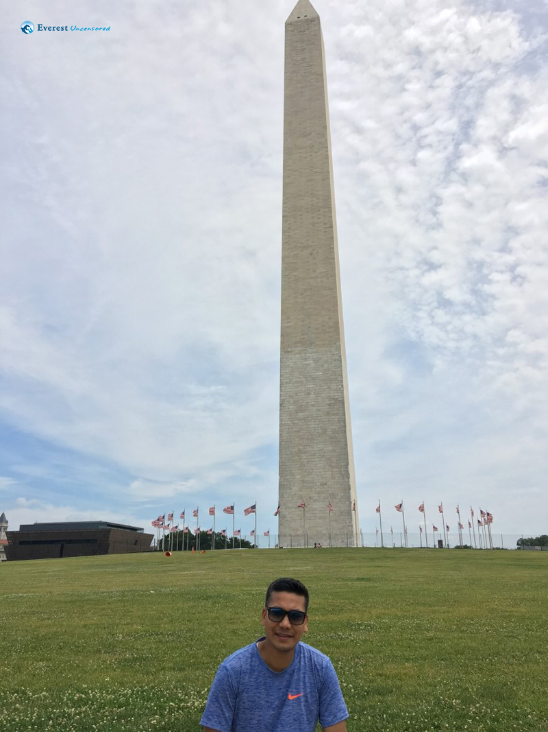 Moment At The Monument