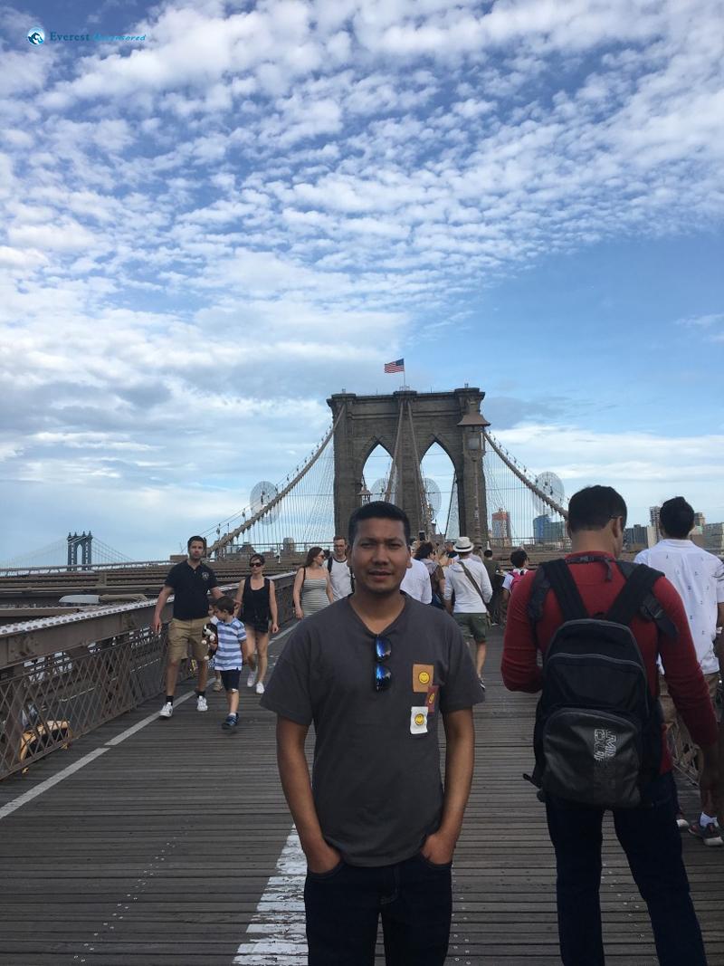 Obligatory Brooklyn Bridge Pic