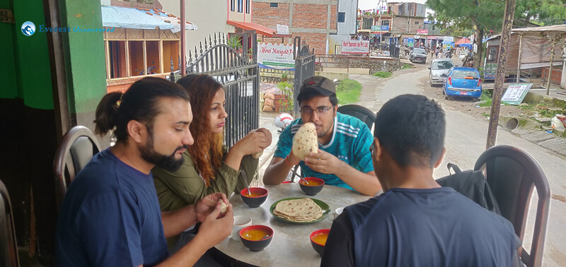 2. Eating Roti Getting Fat