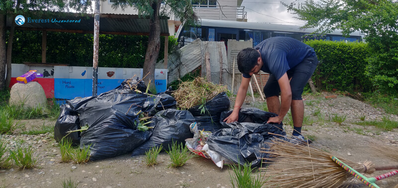55 Managing The Garbage