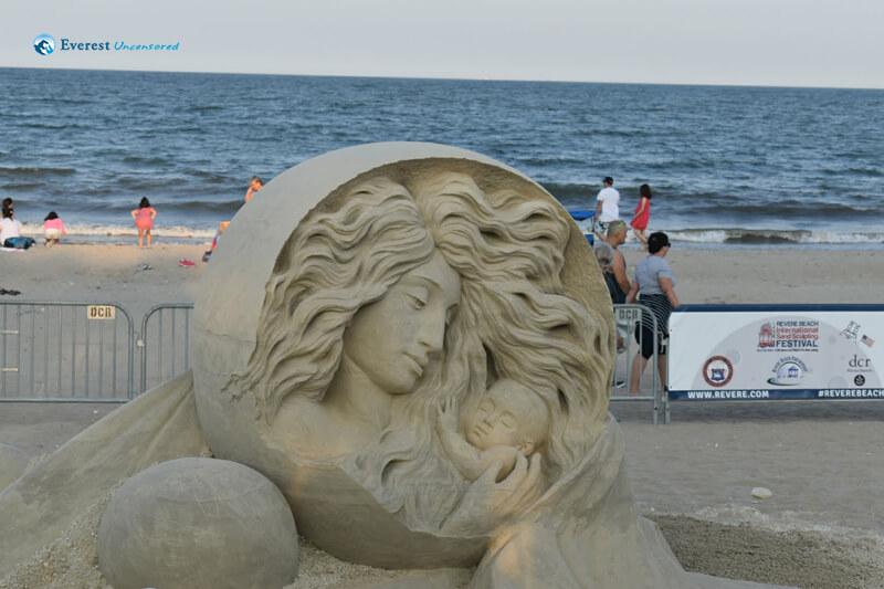 Beautiful Sand Sculpting