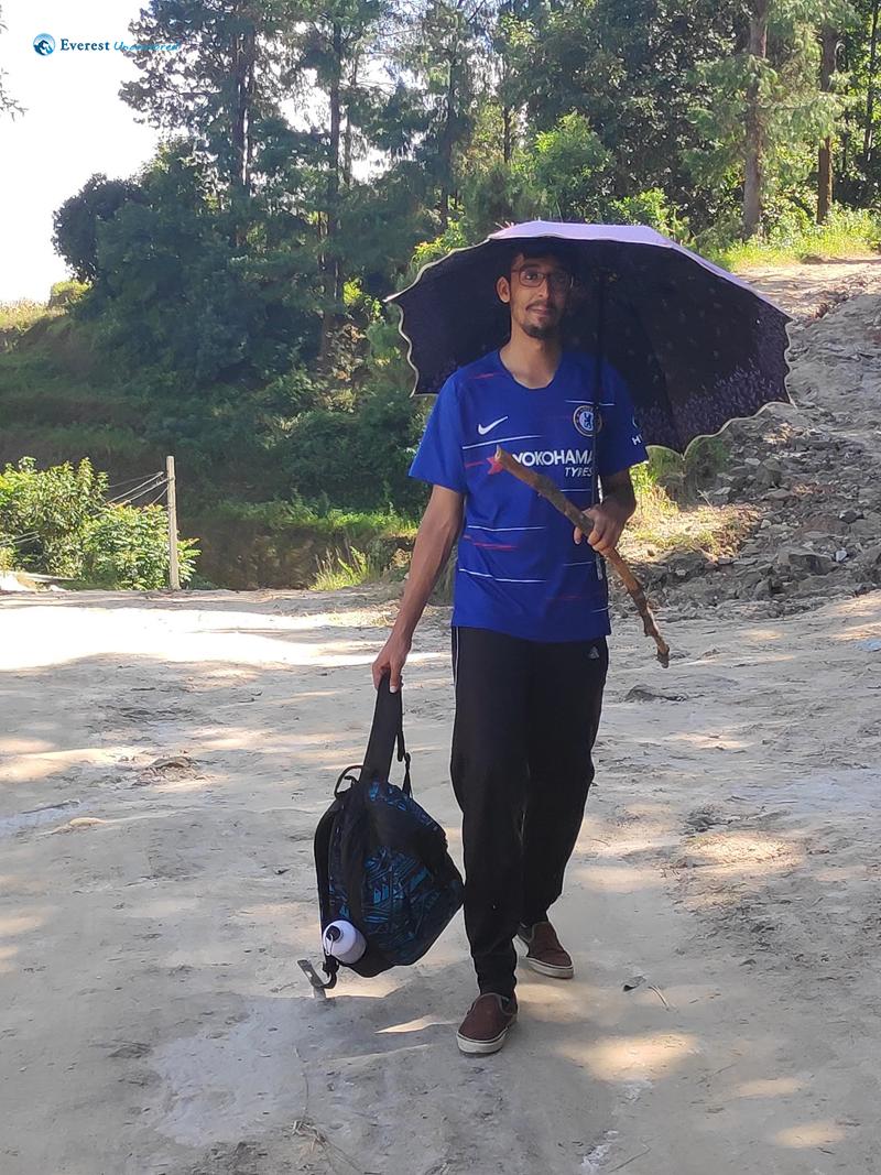 32. Umbrella Man