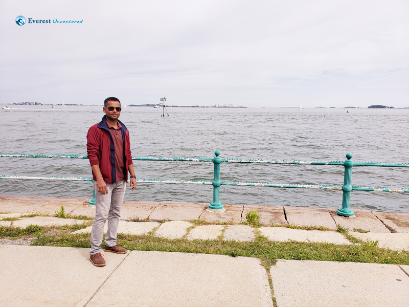 At Castle Island