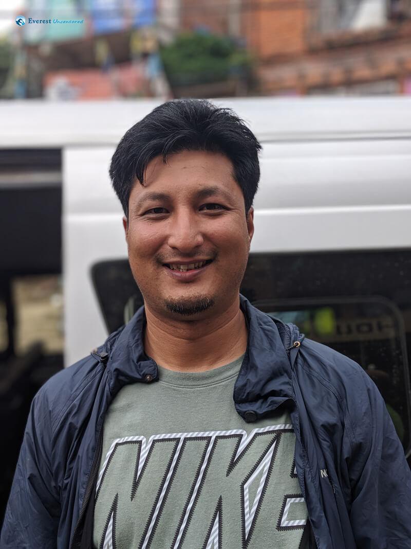 Hiker Ashish Shrestha