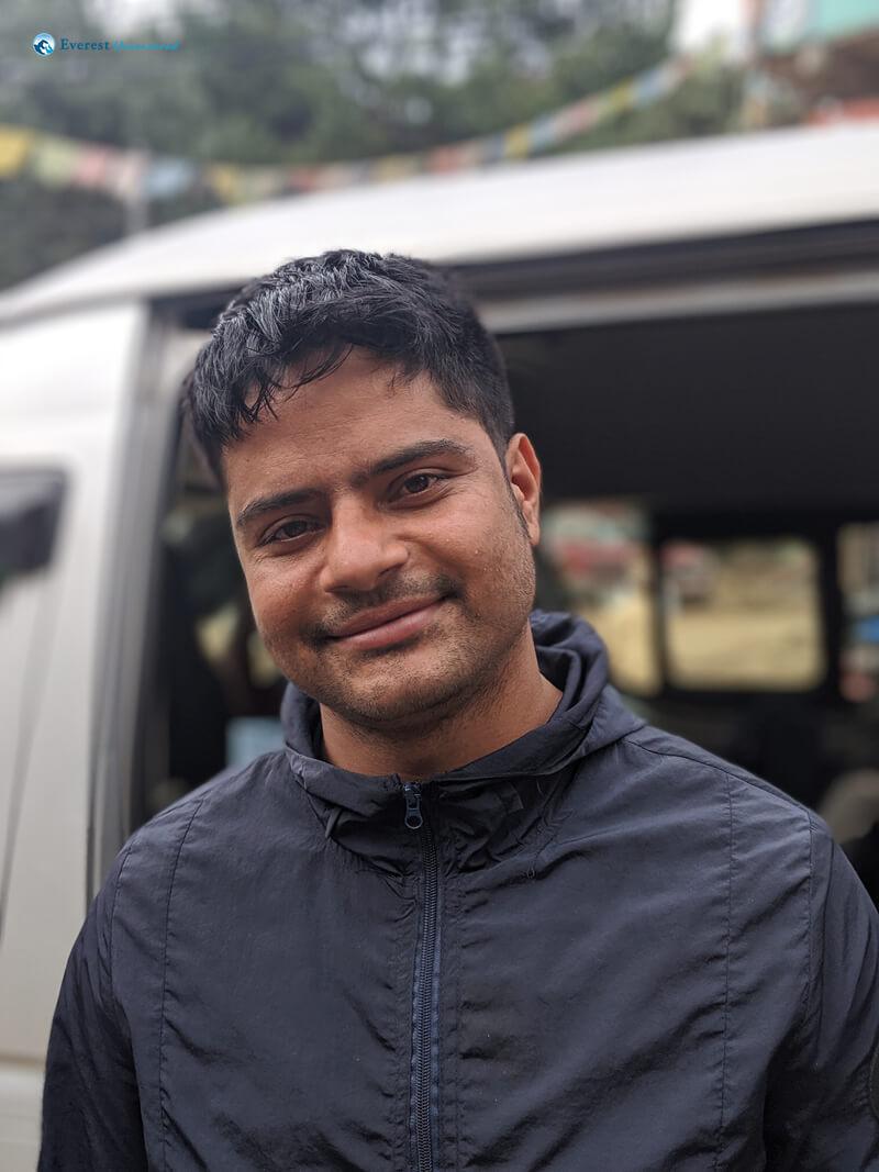 Hiker Kamal Pokharel