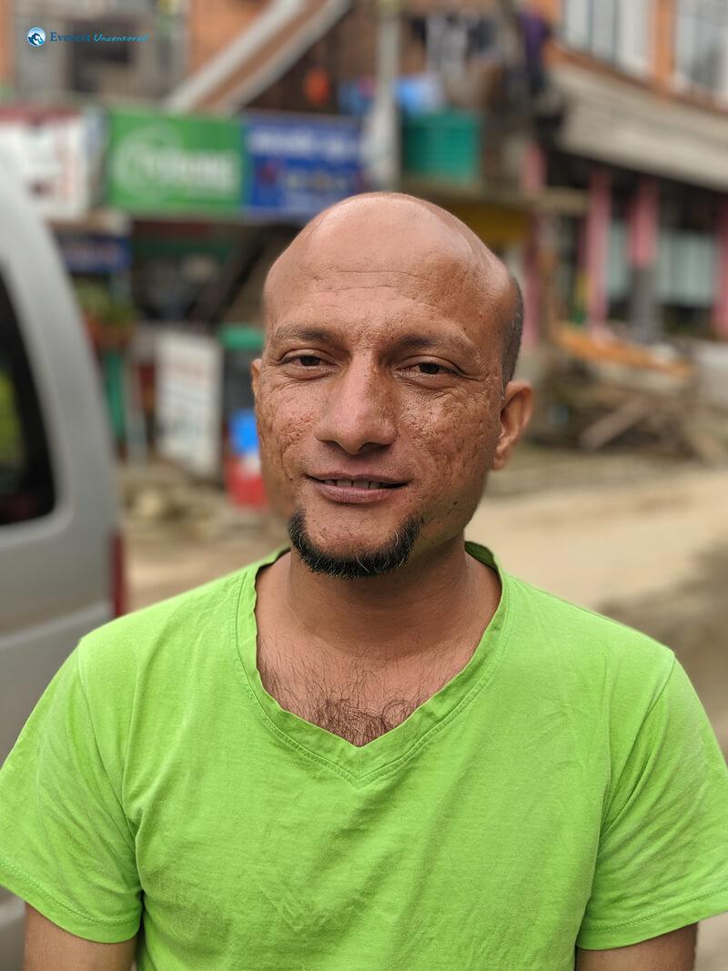 Hiker Kapil Pandey