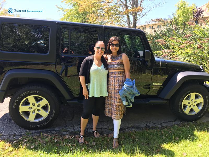 I Miss The Jeep Ride Liana