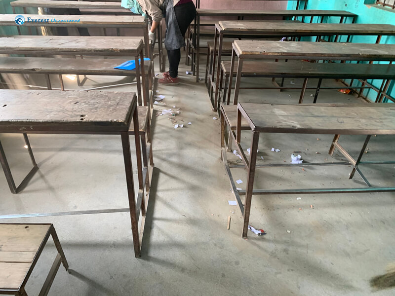 15. Classroom Before