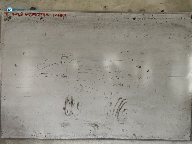 17. Black Board