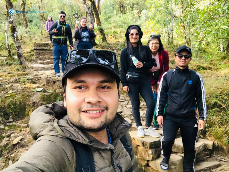 44. Downhill Selfie