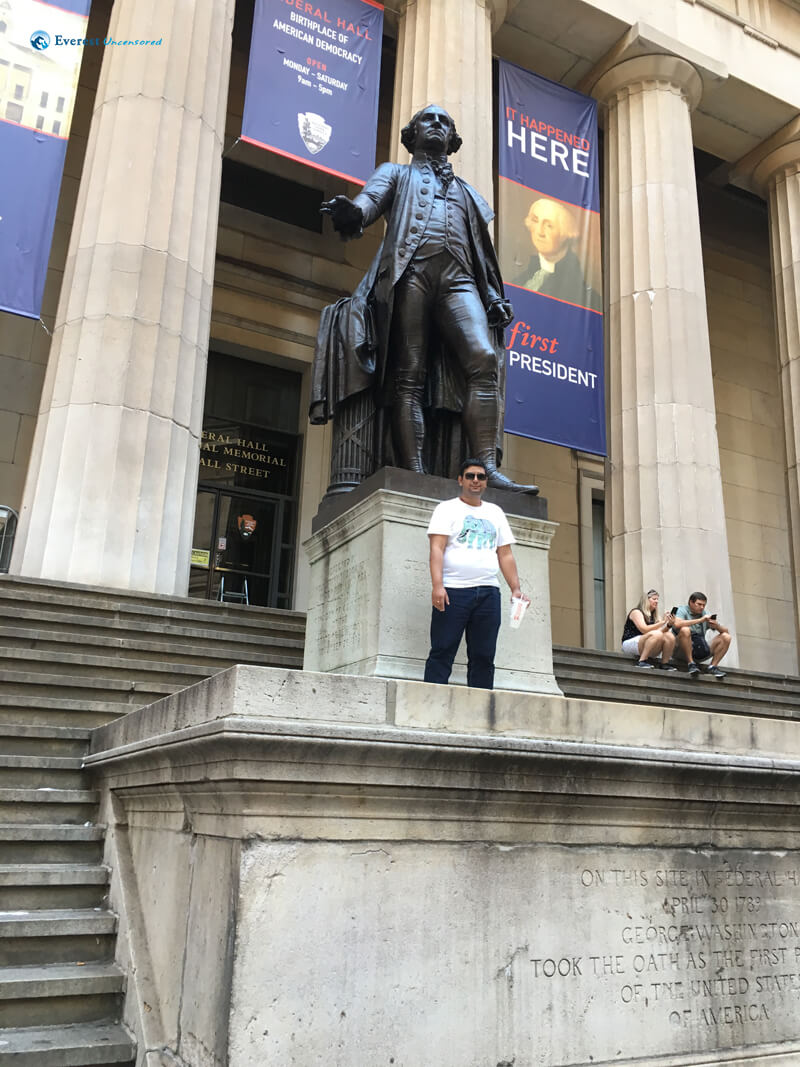 With George Washington
