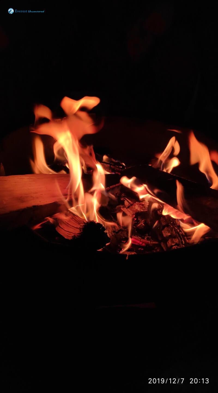 23. Bonfire In Chill Night