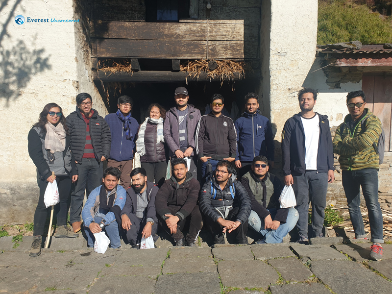 36. Group Pic At Cheese Factory