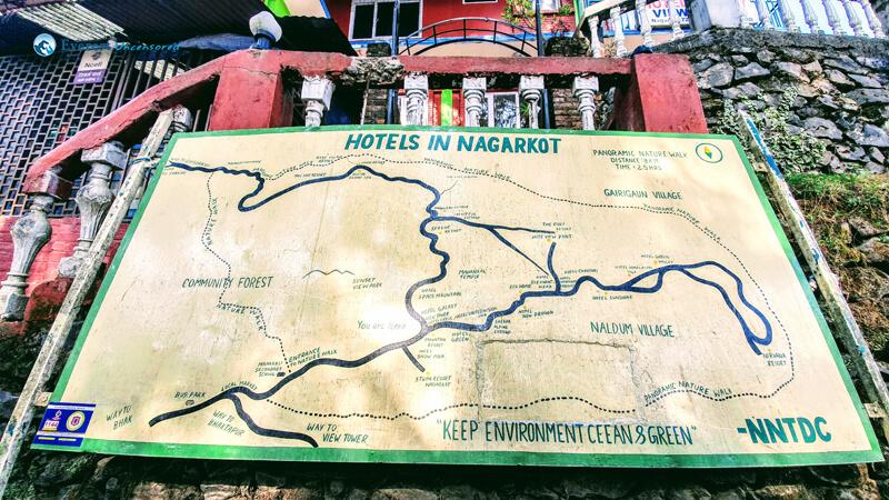 11. Hiking Route Panaromic Nature Walk, Nagarkot