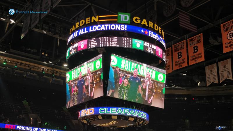 Go Celtics TD Garden