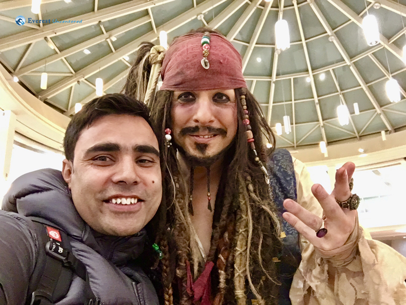 Selfie With @greekjacksparrow