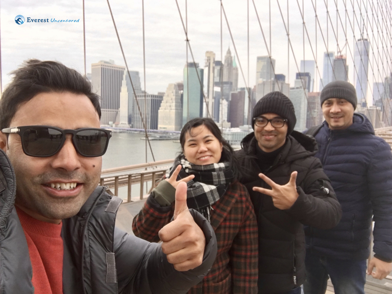 Selfie With Out NYC Host Tansen