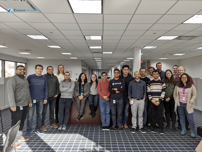 US Office Group Shot