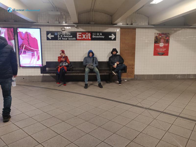 Waiting For NY Subway