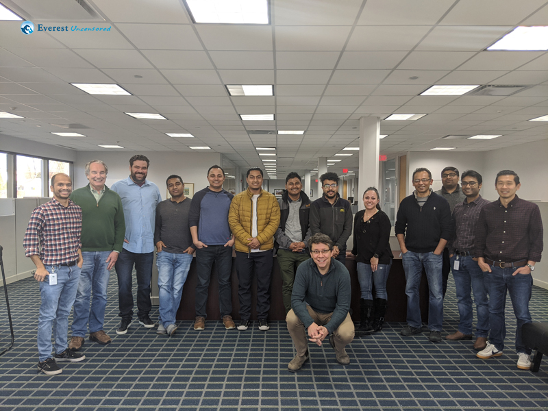 9 Farwell Group Photo At Boston Office