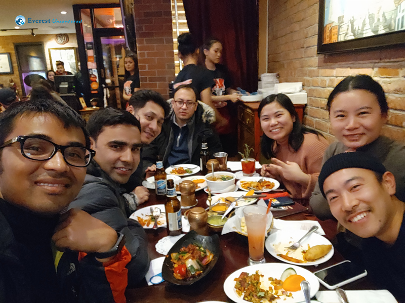Dinner With NYC Team