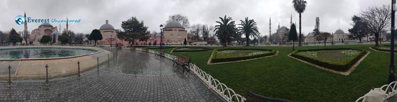 Hagia Sophia Istanbul Garden