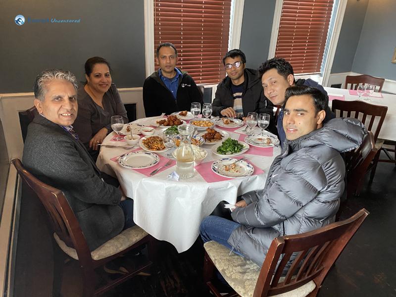 With Rudra Dai And Muna Bhauju