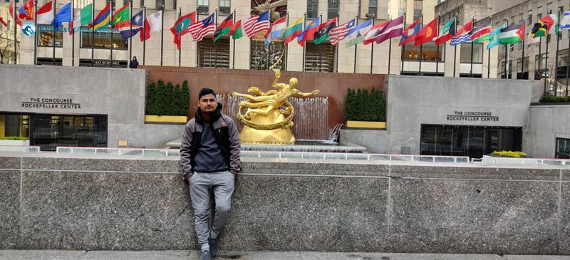 9. Rockefeller Center