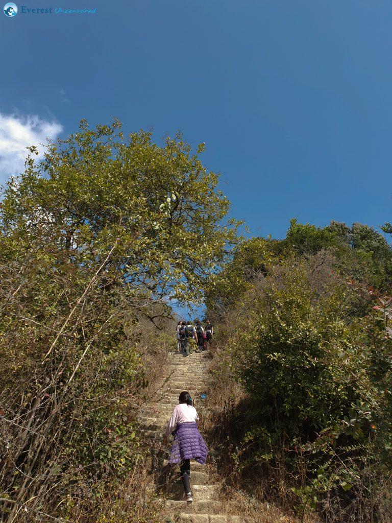 4. Stairing Way To Chisapani